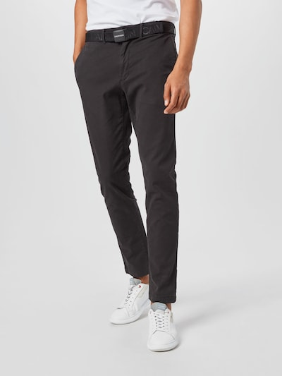 Calvin Klein Chino kalhoty - černá, Model/ka