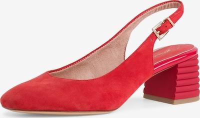 TAMARIS Cipele s potpeticom i otvorenom petom u vatreno crvena, Pregled proizvoda