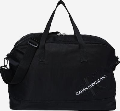 Savaitgalio krepšys iš Calvin Klein Jeans , spalva - juoda / balta, Prekių apžvalga