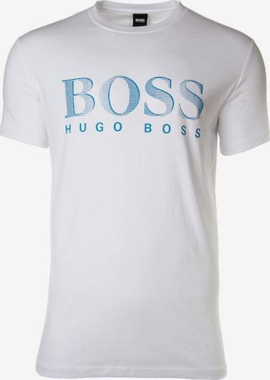 BOSS T-Shirt in mint / weiß, Produktansicht