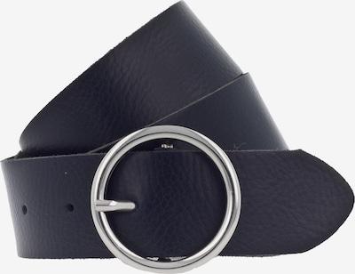 TOM TAILOR DENIM Ledergürtel in dunkelblau, Produktansicht