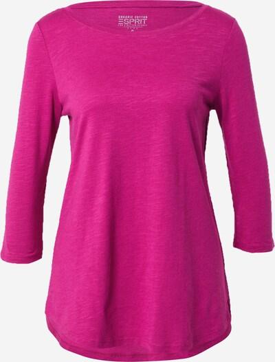 ESPRIT Shirt in dunkelpink, Produktansicht