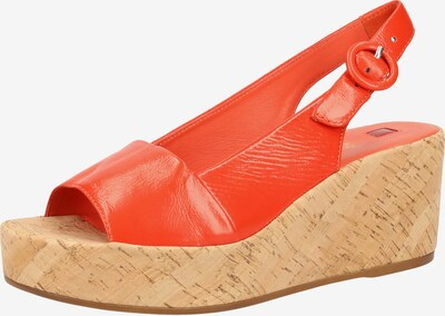 Högl Sandale in orangerot, Produktansicht