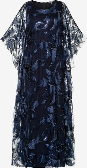 Ulla Popken Avondjurk in de kleur Blauw, Productweergave
