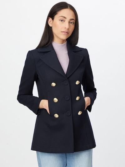 PATRIZIA PEPE Abrigo de entretiempo en azul oscuro, Vista del modelo