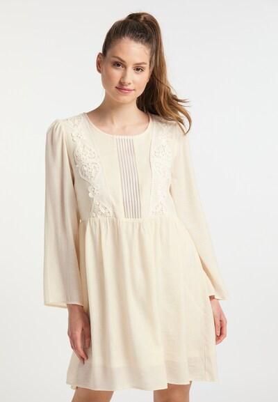 Usha Kleid in beige, Modelansicht