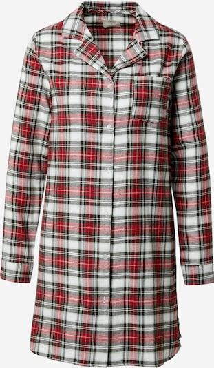 ETAM Noční košilka 'ODALYS - LIQUETTE' - červená / bílá, Produkt