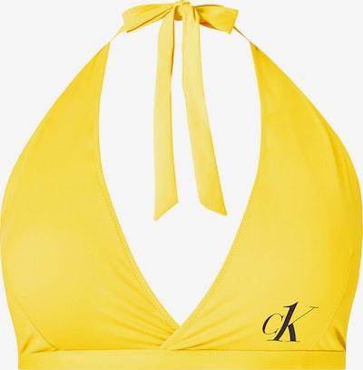 Calvin Klein Swimwear Bikinitop in de kleur Geel / Zwart, Productweergave
