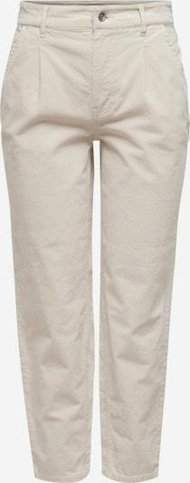 ONLY Pantalon en beige, Vue avec produit