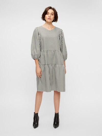 Y.A.S Kleid in grün / weiß, Modelansicht
