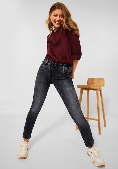 CECIL Jeans in Black denim, View model