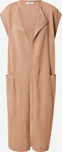 JDY Manteau en tricot 'JULIUS' en noisette, Vue avec produit