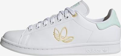 ADIDAS ORIGINALS Sneaker 'Stan Smith ' in gold / weiß, Produktansicht