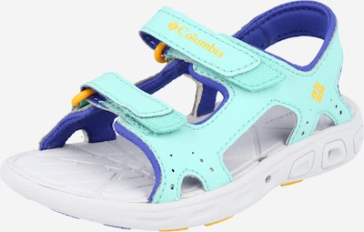COLUMBIA Sandale 'YOUTH TECHSUN VENT X' in blau / hellblau / gelb, Produktansicht