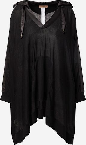 Twinset Pullover 'MAGLIA MISTO LANA' in Black