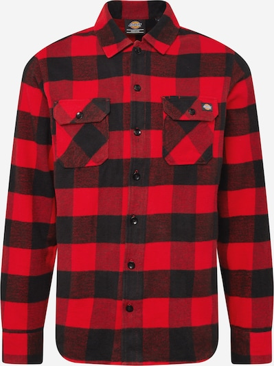 DICKIES Hemd 'Sacramento' in rot / schwarz, Produktansicht