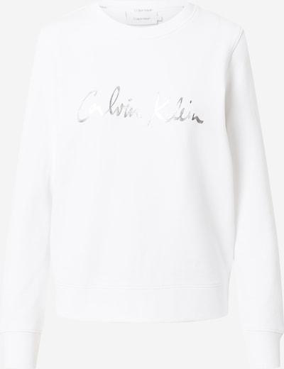 Calvin Klein Majica | srebrna / bela barva, Prikaz izdelka