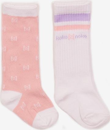Koko Noko Socken in Pink