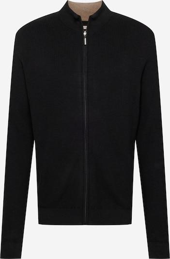 TOM TAILOR Gebreid vest in de kleur Zwart, Productweergave