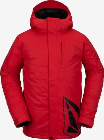 Volcom Outdoor jacket in Red