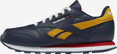 Reebok Classics Sneaker in blau / gelb, Produktansicht