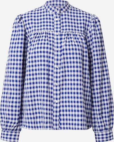 Lollys Laundry Bluse 'Frankie' in blau / weiß, Produktansicht