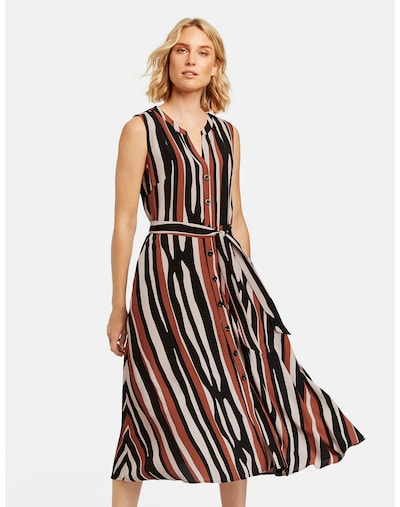 TAIFUN Kleid in mischfarben, Modelansicht
