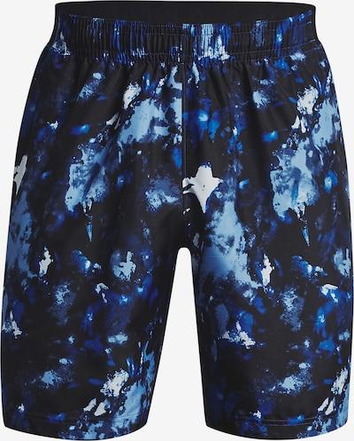 UNDER ARMOUR Shorts 'Adapt' in navy / hellblau / weiß, Produktansicht