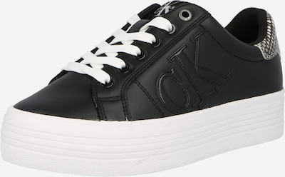 Sneaker low 'Vulcanized' Calvin Klein Jeans pe gri / negru / alb, Vizualizare produs