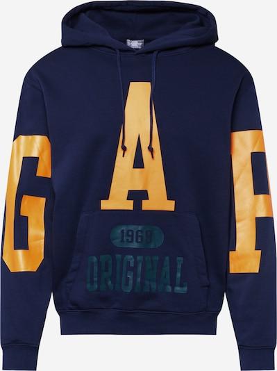 GAP Sweatshirt in navy / goldgelb / petrol, Produktansicht