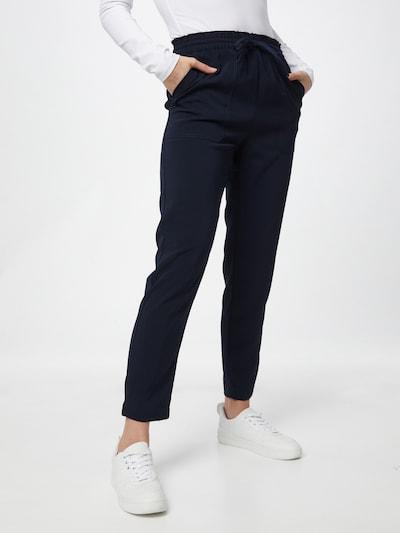 OBJECT Pantalon 'Aria' en marine, Vue avec modèle