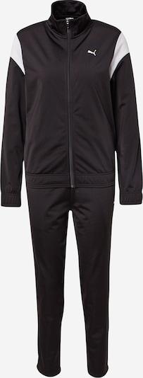 PUMA Treniņtērps, krāsa - melns / balts, Preces skats