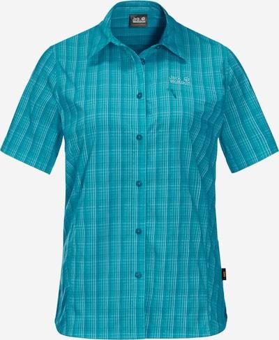 JACK WOLFSKIN Multifunctionele blouse 'Centaura' in de kleur Aqua / Lichtblauw, Productweergave
