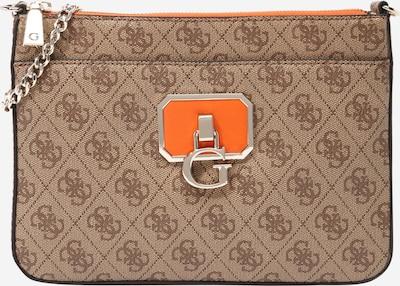 GUESS Bolso de hombro 'ALISA' en marrón / naranja, Vista del producto