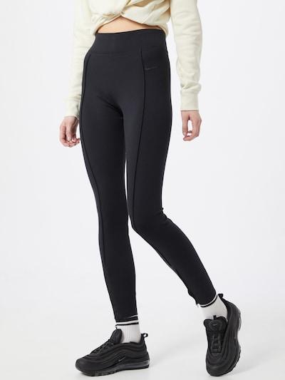 Nike Sportswear Leggings 'Leg-A-See' in de kleur Zwart, Modelweergave