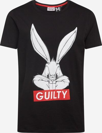 Hailys Men T-Shirt 'Murat' en rouge / noir / blanc, Vue avec produit