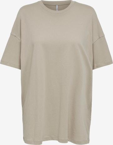 ONLY Shirt 'Aya' in Beige