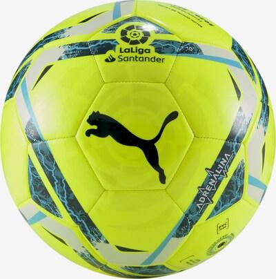 PUMA Ball 'Adrenalina' in neongelb / dunkelgrün / schwarz, Produktansicht
