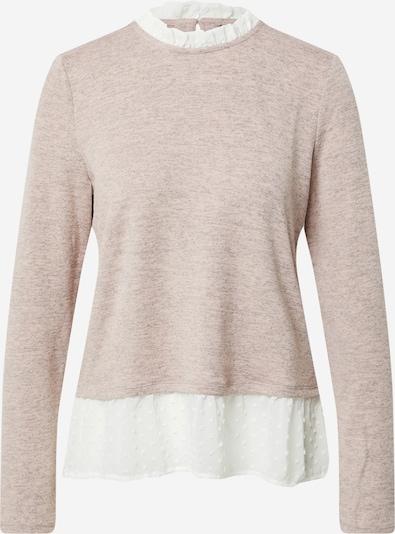 JDY T-shirt 'TONSY' en beige / blanc, Vue avec produit