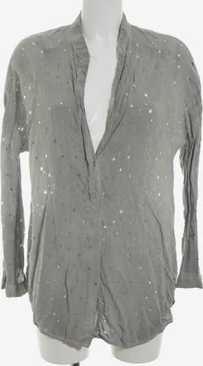 Cotton Candy Oversized Bluse in S in grau, Produktansicht