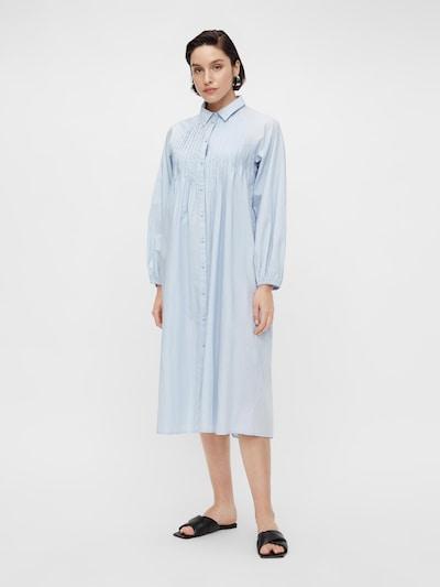 Y.A.S Blusenkleid in hellblau, Modelansicht