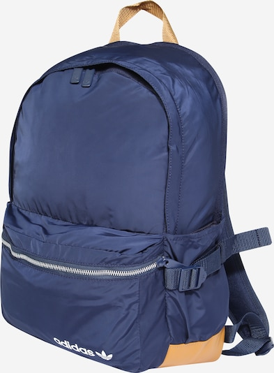 ADIDAS ORIGINALS Rucksack 'Premium Essentials' in navy / braun, Produktansicht