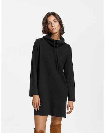 GERRY WEBER Knitted dress in Black