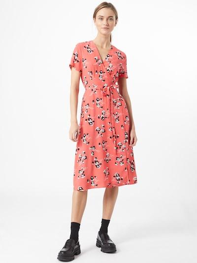 Calvin Klein Jeans Kleid in pink / schwarz / weiß, Modelansicht