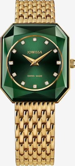 JOWISSA Analoog horloge 'FACET RADIANT' in de kleur Goud / Groen / Donkergroen, Productweergave