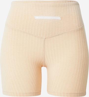 HIIT Παντελόνι φόρμας 'MARL' σε μπεζ