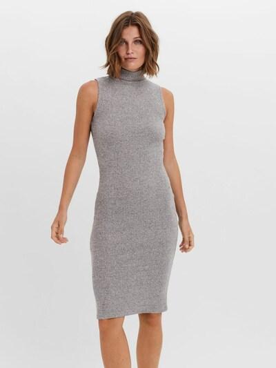 VERO MODA Gebreide jurk 'Tia' in de kleur Grijs gemêleerd, Modelweergave