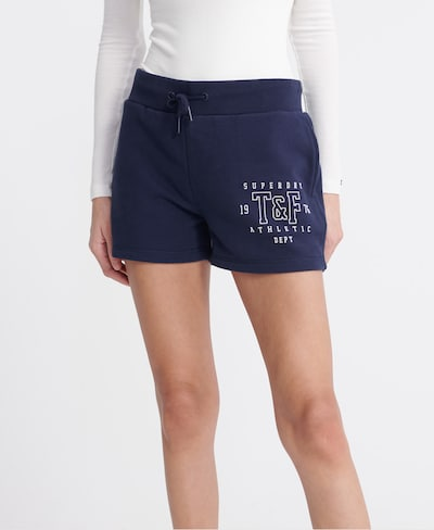 Superdry Shorts 'Track & Field' in marine, Modelansicht