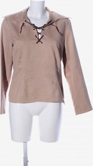 Zagora Schlupf-Bluse in L in wollweiß, Produktansicht