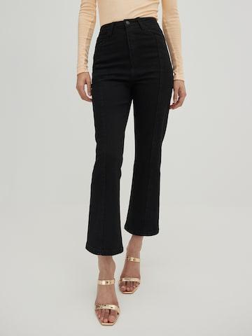 EDITED Jeans 'Elaina' in Zwart
